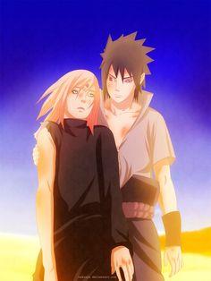 Naruto 685: SasuSaku moment... FINALLY! by Zakuuya.deviantart.com on @deviantART  SasuSaku | Sasuke Uchiha and Sakura Haruno from Naruto manga 685
