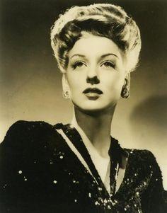 Ann Savage, B-movie actress, star of that great noir film Detour (1945).