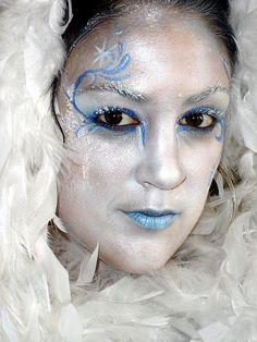 ice queen by bodyartbykeegan, via Flickr