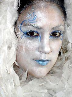 ice queen by bodyartbykeegan, via Flickr