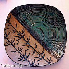 Prato com textura de bambú | Flickr - Photo Sharing!