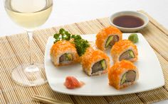 Enjoy this delicious recipe, which takes the best flavors of Japanese food. Ideal preparation for tasting with a glass of Sauvignon Blanc, fresh and well balanced wine, perfect acidity, perfect for palates always alive and awake.