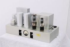 Line Magnetic 91A 300B Single Ended mono amplifier