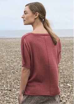 Plattierter Pullover aus Leinen/Öko-Baumwolle 82505-30.tif