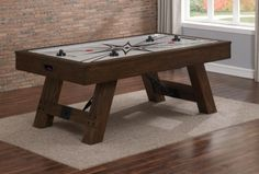 Air Hockey Tables On Sale! Family Leisure is your place for the air hockey table you want! Family Leisure has the largest selection on discount home game room e Air Hockey Games, Game Room Decor, Table Centers, Extra Rooms, Table Games, Savannah Chat, New Homes, House Styles, Furniture