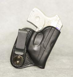 ETW Holsters is a custom leather manufactor in Hickory North Carolina Leather Iwb Holster, Gun Holster, Holsters, Ruger Lcp, Hand Molding, Concealed Carry, Custom Leather, Self Defense, Back Pain
