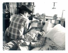 "rivjudephoenix: "" ""During the shooting of the uncompleted film 'Dark Blood' Ed Lachman, the film's cinematographer, took a number of black-and-white Polaroid photographs as exposure checks, including this image of River Phoenix acting in the deathbed..."