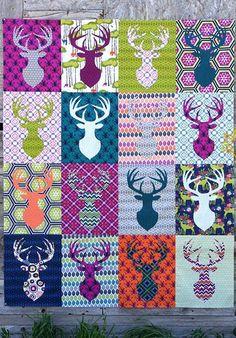 deer quilt … | Pinterest : deer quilt patterns - Adamdwight.com
