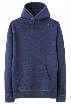 Pure Blue Japan 5317 Indigo Sweat Hoodie