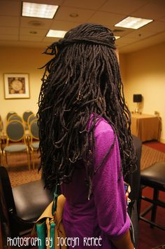 genie locs. Forgot about these! I could always rock them thicker....