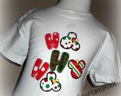 Ho Ho Ho Mickey Kids Shirt