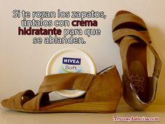 #Trucos para evitar las rozaduras de #zapatos en los pies http://trucosyastucias.com/consejos-salud/rozaduras-de-zapatos #nivea