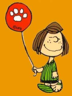 The other one kinda like her only more feminine. Peppermint Patty with a 'Snoopy Paw' Balloon, the Peanuts Sally Brown, Thursday Greetings, Happy Thursday, Thursday Quotes, Thursday Images, Thankful Thursday, Peanuts Cartoon, Peanuts Snoopy, Garfield Cartoon