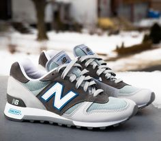 New Balance 1300–Grey-White-Blue
