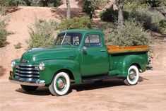 Vintage Trucks Complete restoration to original in Body removed for restoration, razor straight body. Truck bed with new wood and stainless. Chevy Trucks For Sale, Vintage Chevy Trucks, Chevy Pickup Trucks, Antique Trucks, Cool Trucks, Lifted Trucks, Chevy Pickups, 4x4 Trucks, 1950s Chevy Truck