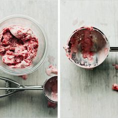 Roasted Strawberry Coconut Milk Ice Cream.  This website has amazing ice cream flavors.. Avocado?  Maybe.  Lavendar chocolate chip?  yeah.  Roasted maple banana?  Oh. Yeah.  I can't choose.