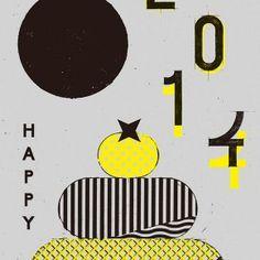 MdN New Year's Card 2014 : Design