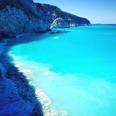 Porto Katsiki beach, Leukada island, Greece