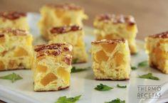 Tortilla de calabaza y puerro - http://www.thermorecetas.com/tortilla-calabaza/