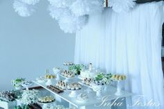 Angel Themed Girl Boy Christening Baptism Celebration Planning Ideas