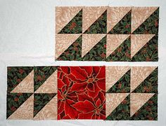 Sew a Mystery Holiday Table Runner (Or Peek Ahead for the Final Look): Assemble Rows for the Table Runner Pattern