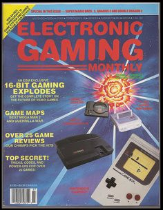 Electronic Gaming monthly  issue 2 (16-BIT GAMING EXPLODES: Get the complete story on the future of Video Games)
