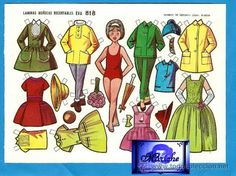 paper dolls Single Sheets, All Paper, Vintage Paper Dolls, Sweet Memories, My Childhood, Origami, Aurora Sleeping Beauty, Disney Characters, Toys