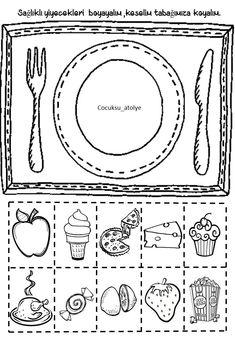 Kindergarten Activities, Activities For Kids, Crafts For Kids, Islam For Kids, English Activities, Cut And Paste, Hygiene, School Lessons, Diy Party Decorations