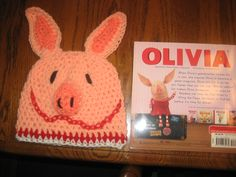Olivia crochet hat for a little patient with leukemia.