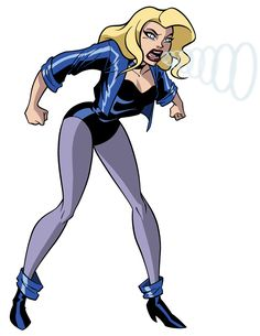 How To Draw DC Heroes - Black Canary by TimLevins