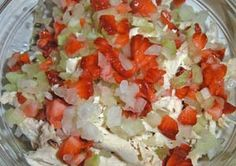 Gluten Free Strawberry Chicken Salad Recipe: http://glutenfreerecipebox.com/strawberry-chicken-salad/