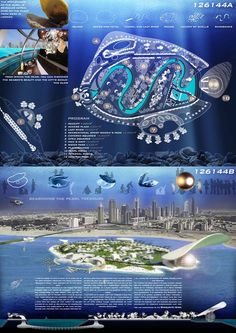 [A3N] : Water Village in Sharjah Competition 2012 ( Honorable Mention 08 : ) / Diego Henao , Ediberto Yepes , Ediber Soto , Julian Gil ( Colombia )