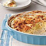 Classic Parmesan Scalloped Potatoes Recipe | MyRecipes.com