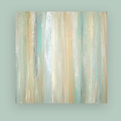 Shabby Chic Abstract Acrylic Original Painting by OraBirenbaumArt, $485.00