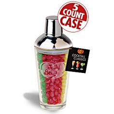 Shake up your jelly bean mixes with this charming candy jar! Assorted