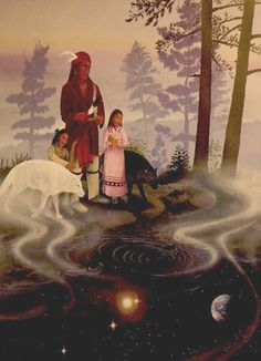 Cherokee Legend - How the World Was Made, by Katharine Berry Judson 1913