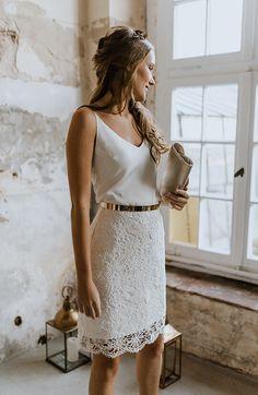 Bridal Skirts, Wedding Dresses, Gown Wedding, Party Dresses, Lace Wedding, Bridal Tops, Lace Bridal, Elegant Bride, Boho Bride
