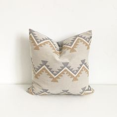 16X26 Pillow Insert 16X26 Blue White Gray Batik Zipper Pillow Coverhivehoneyhome On