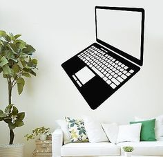 Wall Stickers Vinyl Decal Laptop Computer Gadget Internet Technology IT (ig1374)