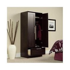 Wardrobe Armoire Closet Storage Freestanding Wood Cabinet Bedroom Clothes NEW   for USD234.85 #Home #Garden #Furniture #Freestanding  Like the Wardrobe Armoire Closet Storage Freestanding Wood Cabinet Bedroom Clothes NEW  ? Get it at USD234.85!