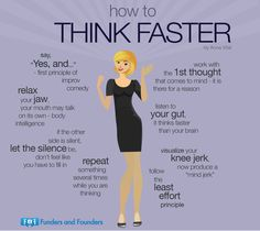 How to Think Faster from How to Have a Simple Life as an Entrepreneur Infographic Self Development, Personal Development, Professional Development, Life Skills, Life Lessons, Vie Motivation, Sales Motivation, Business Motivation, Mind Relaxation