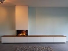 Modern Fireplace, Fireplace Design, Fireplace Suites, Living Room Tv Unit Designs, Tv Decor, Home Decor, Dream House Interior, Living Room Sets, Living Room Inspiration
