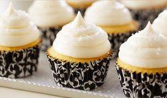 Cupcakes de vainilla de Anna Olson