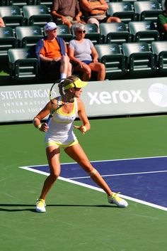 Eugenie Bouchard @ BNP Paribas Open 2013: Practice and Qualifying