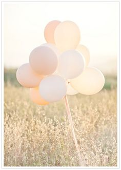 someone I know is thinking of this for their colors plus gold....Peaches and Cream wedding balloons