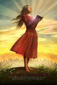 Arte Lds, Zephaniah 3 17, La Sainte Bible, Hero Poster, Lds Art, Jesus Christus, Bride Of Christ, Prophetic Art, A Course In Miracles
