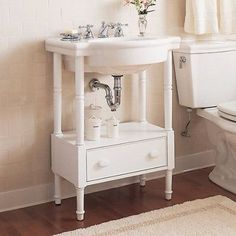 American-Standard-0282-008-020-Retrospect-Pedestal-Console-Sink-Top-with-8-Inch