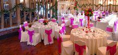 Multi coloured wedding!