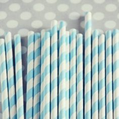 "Pretty Party Styling Essentials $4.00 You will receive one pack of 20 paper straws. Each straw measures approx. 8"" in length."