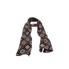 Echarpe Losango Coloridos #echarpe #echarpes #lenços #lenço #scarf #scarfs